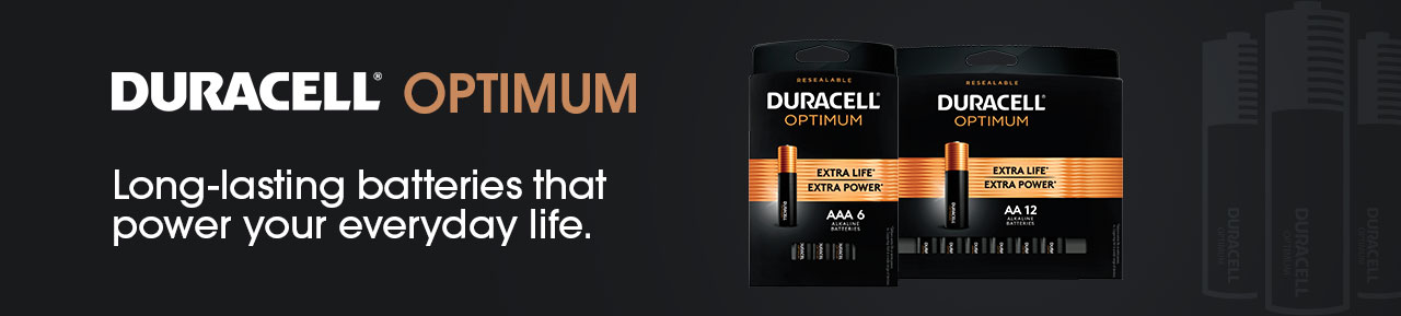 Duracell Optimum Batteries