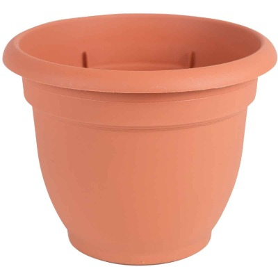 Bloem Ariana 17 In. H. x 20 In. Dia. Plastic Self Watering Terracotta Planter