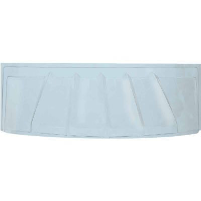 42 In. x 17 In. Bubble Plastic Window Well Cover