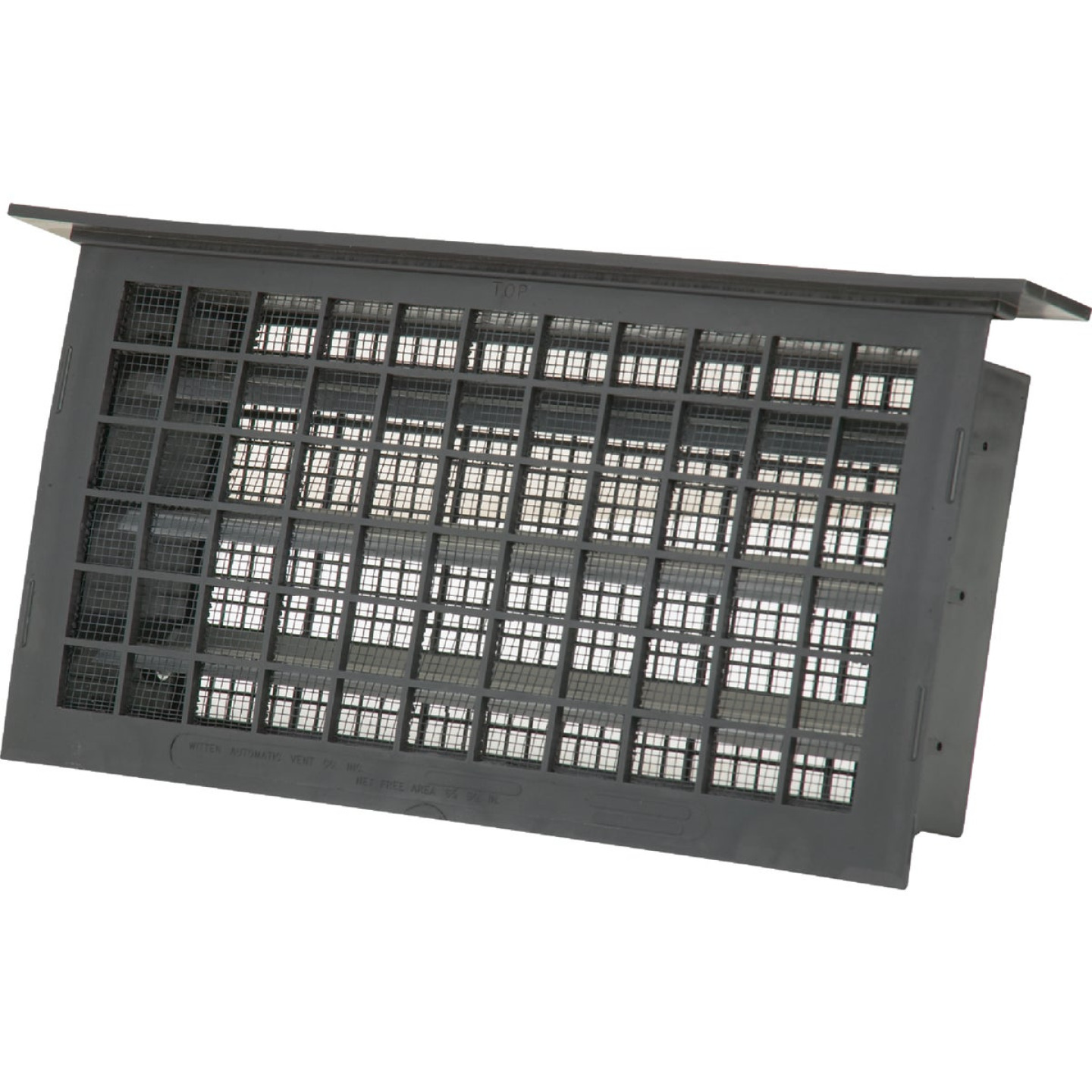 Witten 8 In. x 16 In. Black Automatic Foundation Ventilator with Lintel Image 1
