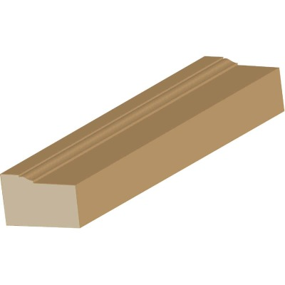 Cedar Creek WM180 2 In. x 17 Ft. Pine Wood Brick Molding