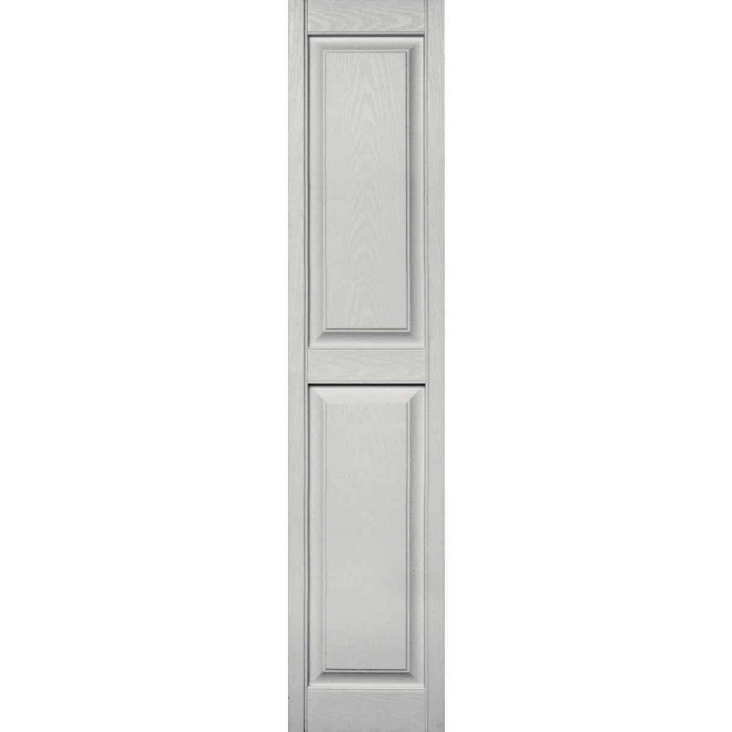 Builders Edge 15 in. x 71 in. Paintable Panel Shutter, (2-Pack) Image 1