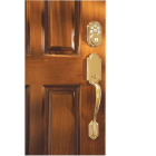 Kwikset Signature Series SmartCode Polished Brass Electronic Deadbolt Image 2