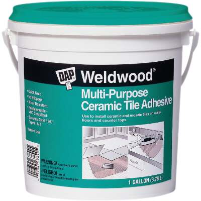 DAP Weldwood 1 Gal. Multi-Purpose Ceramic Tile Adhesive