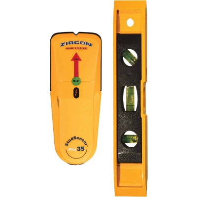 Zircon StudSensor Pro35 SL Stud Finder with Level