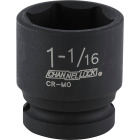 Channellock 1/2 In. Drive 1-1/16 In. 6-Point Shallow Standard Impact Socket Image 1