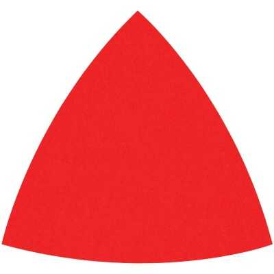 Diablo 80-Grit (Coarse) 3-3/4 In.Oscillating Detail Triangle Sanding Sheets (10-Pack)
