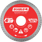 Diablo 4-1/2 In. Diamond Continuous Rim Dry/Wet Cut Diamond Blade Image 1