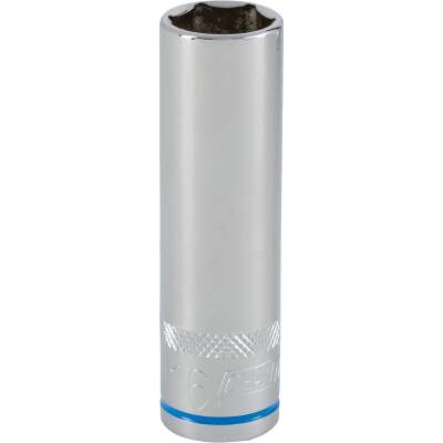 Channellock 1/2 In. Drive 16 mm 6-Point Deep Metric Socket