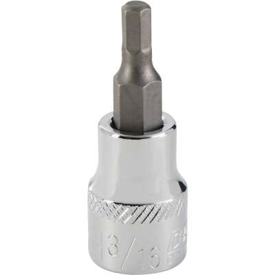 Channellock 3/8 In. Drive 3/16 In. 6-Point Standard Hex Bit Socket