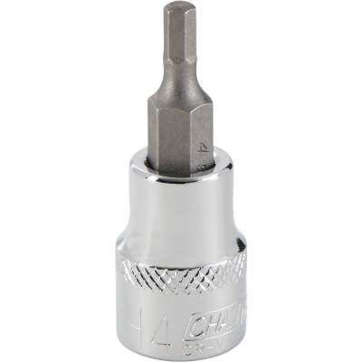 Channellock 3/8 In. Drive 4 mm 6-Point Metric Hex Bit Socket