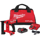 Milwaukee M18 FUEL 18 Volt Lithium-Ion 1/4 In. Narrow Crown Brushless Cordless Finish Stapler Kit Image 1