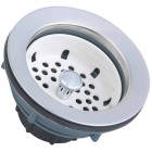 Do it 3-1/2 In. ABS & Stainless Steel Basket Strainer Assembly Image 1