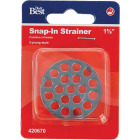 Do it 1-5/8 In. Stainless Steel Tub Drain Strainer Image 2