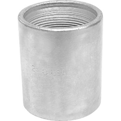 Anvil 3/8 In. x 3/8 In. FPT Standard Merchant Galvanized Coupling