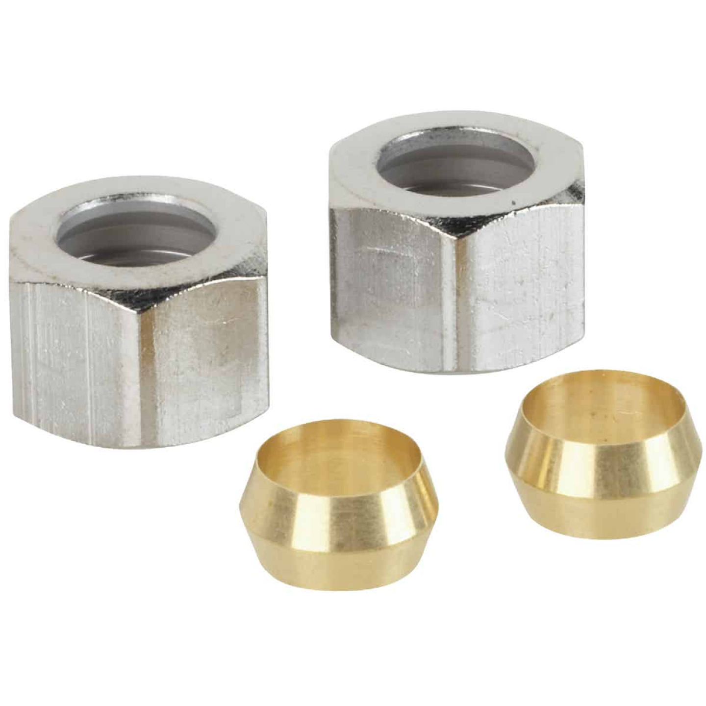 Do it 3/8 In. Compression Nut And Ring Image 1