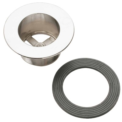 Do it 1-1/2 In. Coarse Waste Shoe Tub Drain Strainer with Chrome Finish