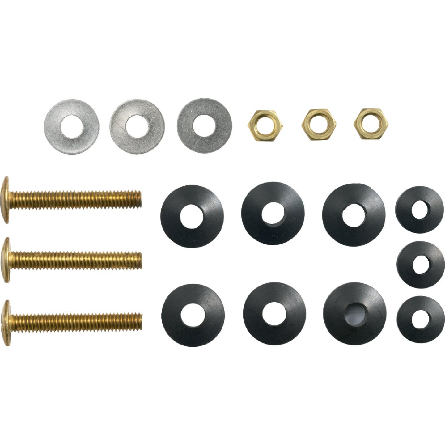 Kohler Genuine Parts 5/16 In. x 3 In. Brass Tank Bolts Assembly Kit  Image 1