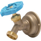 Sharkbite 1/2 In. SB x 3/4 In. MHT Multi Turn Brass No Kink 45 Degree Hose Bibb Image 1