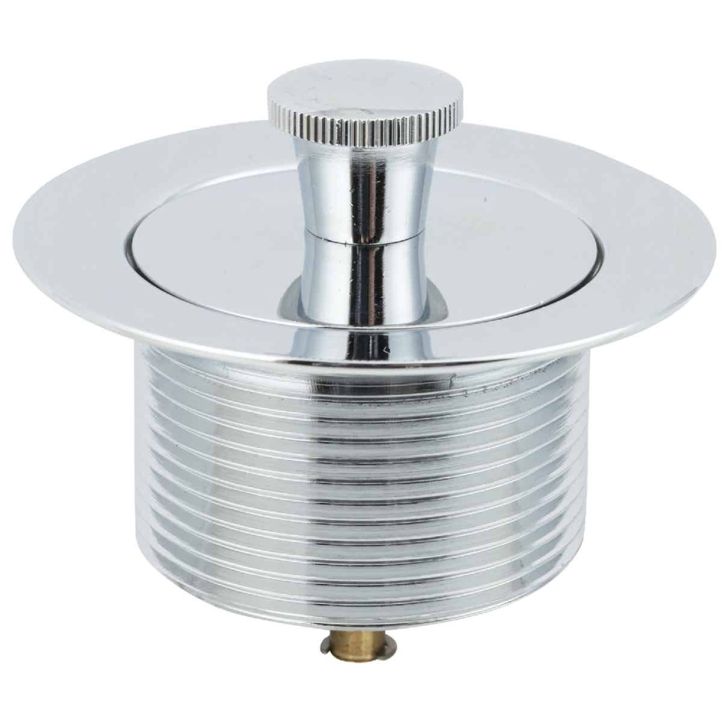 Do it 1-7/8 In. to 2-1/4 In. Lift and Lock Bathtub Drain Stopper with Chrome Finish Image 1