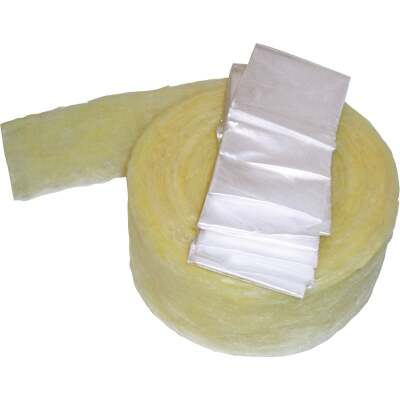 Frost King 1/2 In. x 3 In. x 25 Ft. Fiberglass Pipe Insulation Wrap