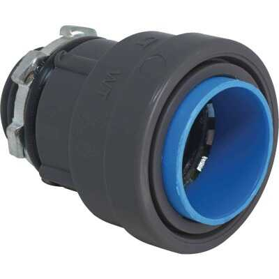 Southwire SimPush 1/2 In. Liquid Tight Type-B Push-To-Install Box Connector