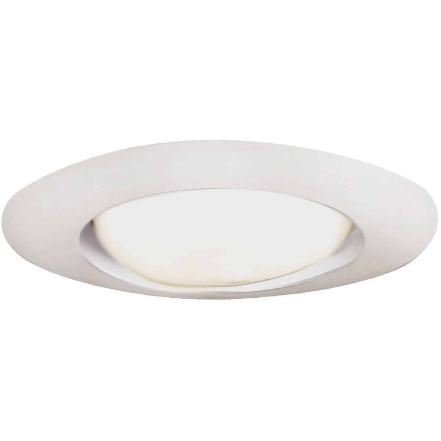 Halo 6 In. White Open Recessed Fixture Trim Image 1