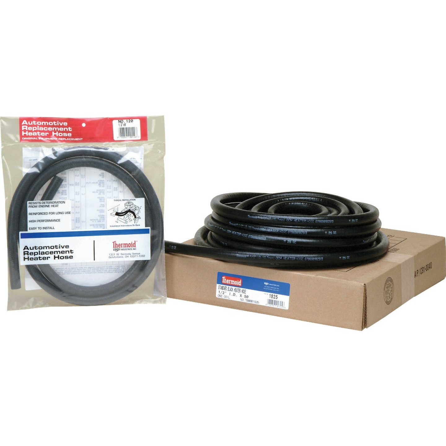 Thermoid 1/2 In. ID x 6 Ft. L. Auto Heater Hose Image 1