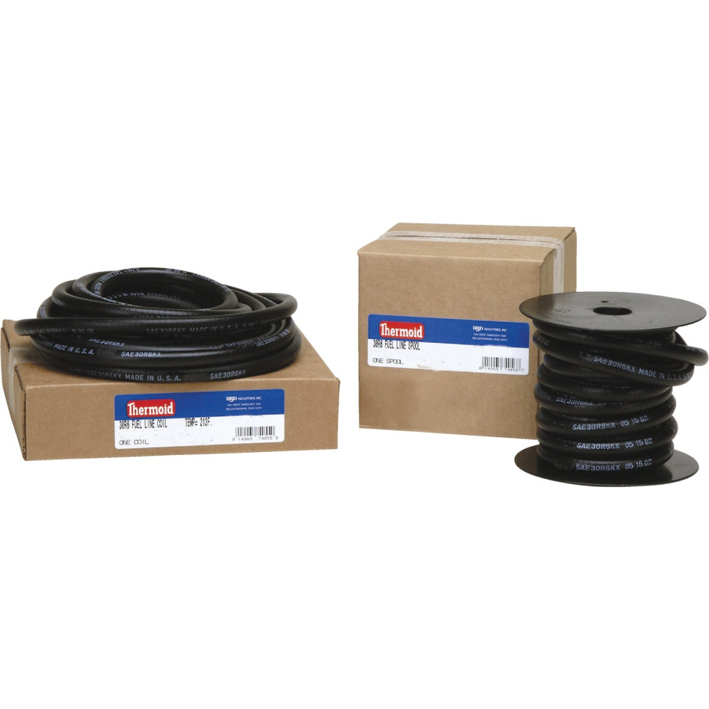 Thermoid 3/8 In. ID x 25 Ft. L. Bulk Fuel Line Hose Image 1