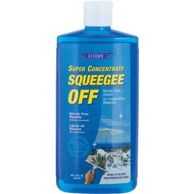 Ettore Squeegee Off 16 Oz. Super Concentrate Glass Cleaner