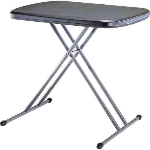 Lifetime 26 In. x 18 In. Personal Folding Table, Black
