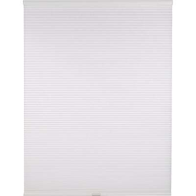 Home Impressions 1 In. Light Filtering Cellular White 23 In. x 72 In. Cordless Shade