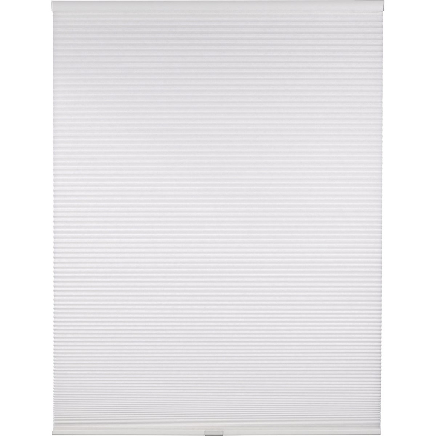 Home Impressions 1 In. Light Filtering Cellular White 27 In. x 72 In. Cordless Shade Image 1