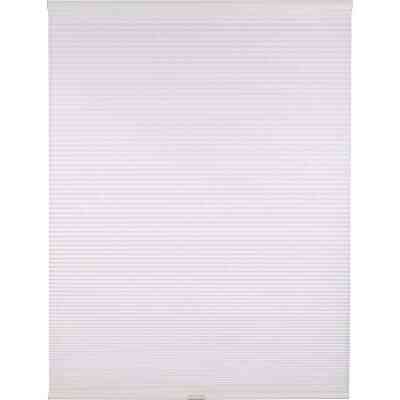 Home Impressions 1 In. Light Filtering Cellular White 60 In. x 72 In. Cordless Shade