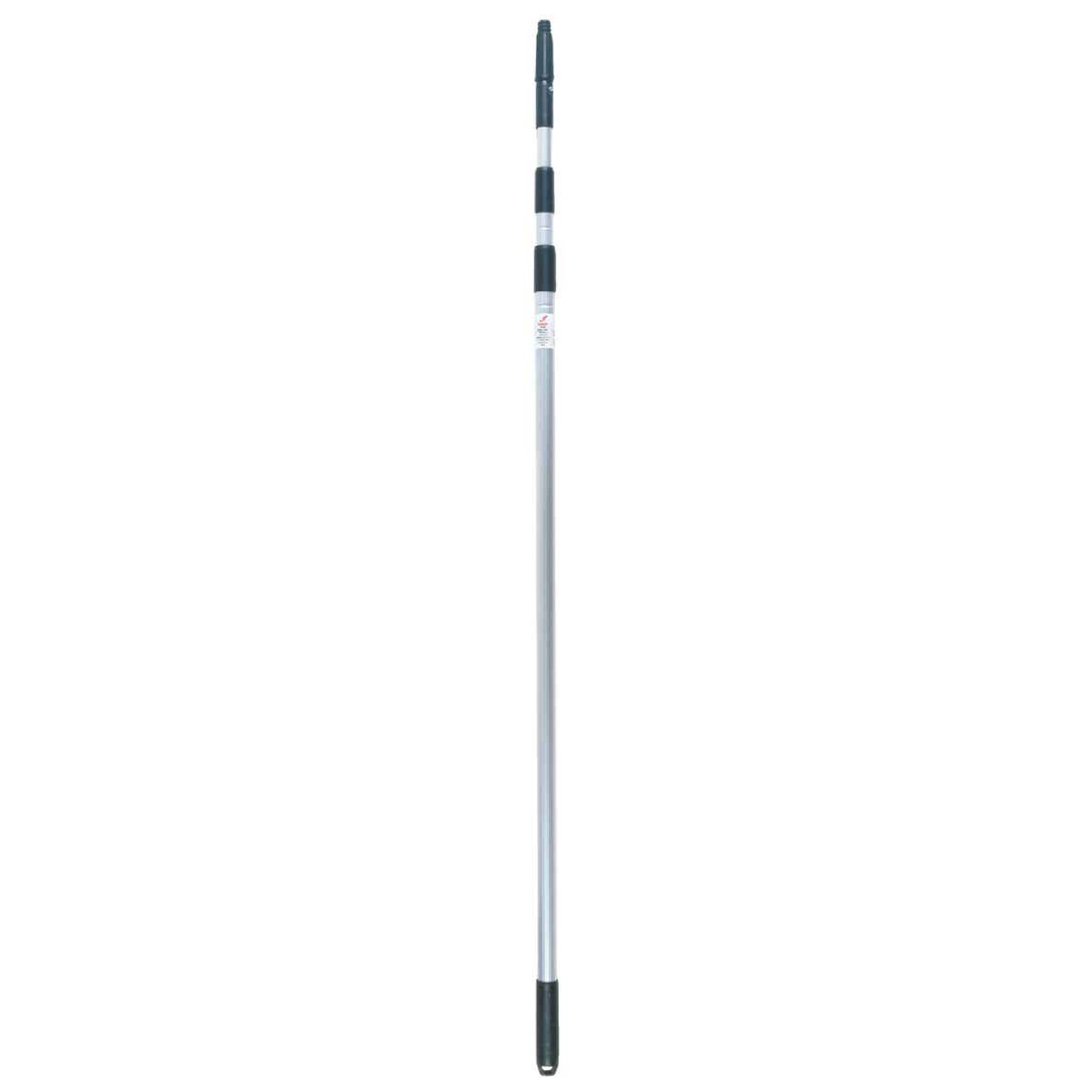 Unger 3-Stage 11 Ft. Silver Aluminum Telescopic Handle Image 1