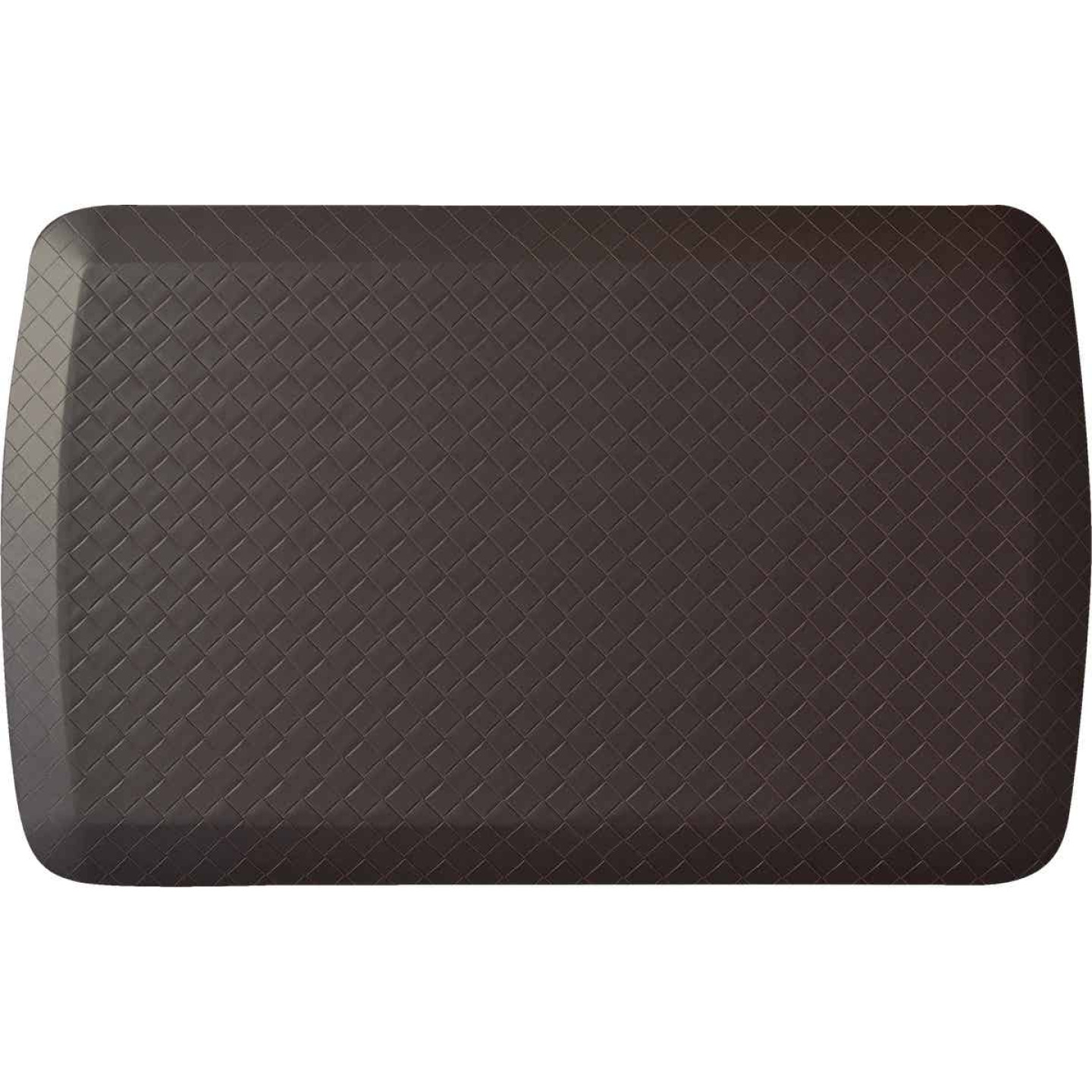 GelPro Basics 20 In. x 32 In. Truffle Basketweave Comfort Anti-Fatigue Mat Image 1