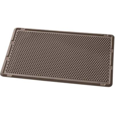 WeatherTech 24 In. x 39 In. Brown Outdoor Mat