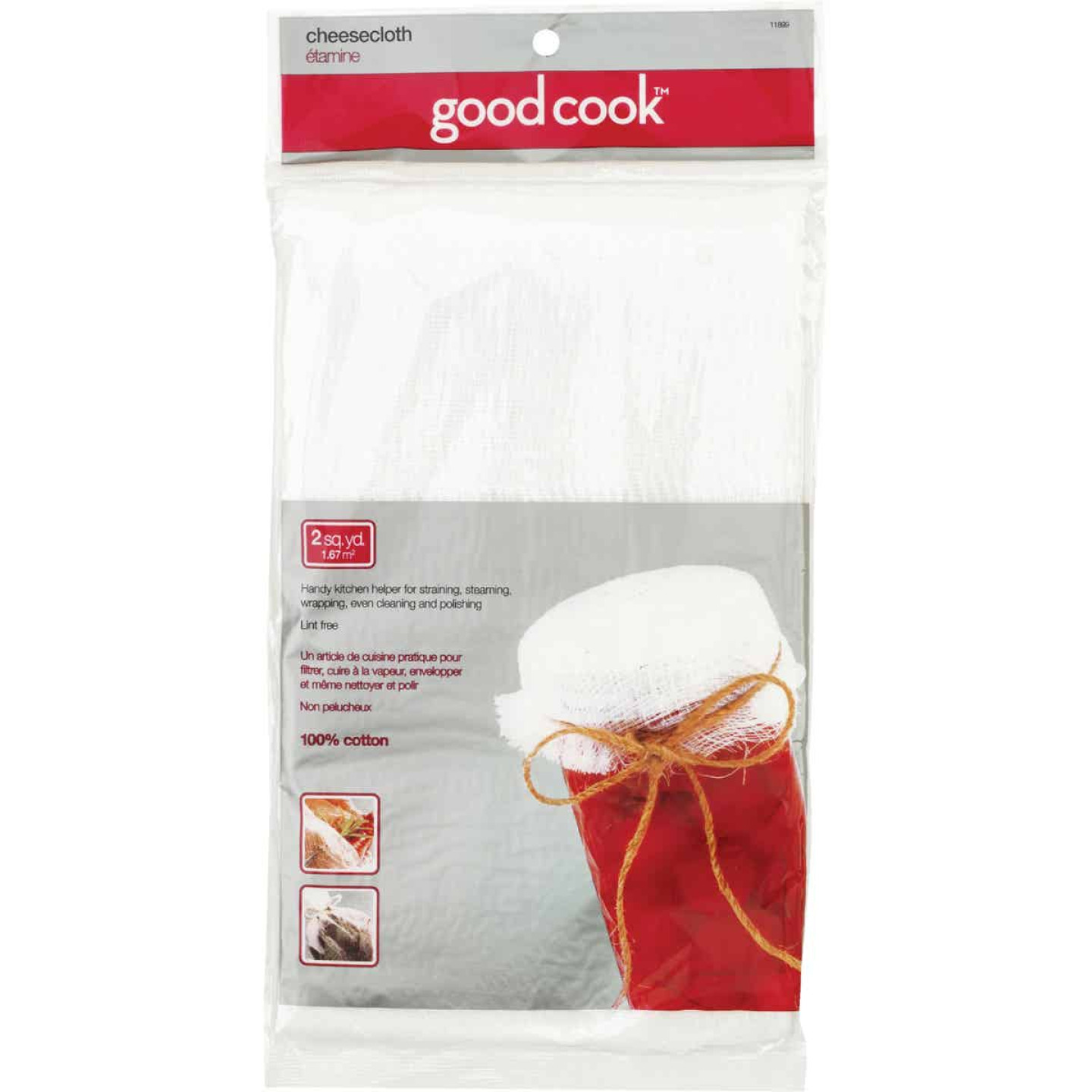 Goodcook 100% Cotton Cheesecloth Image 1