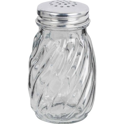 Anchor Hocking 3.25 Oz. Glass Swirl Salt Or Pepper Shaker