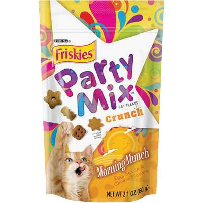 Purina Party Mix Morning Munch-Egg, Bacon, & Cheese 2.1 Oz. Cat Treat