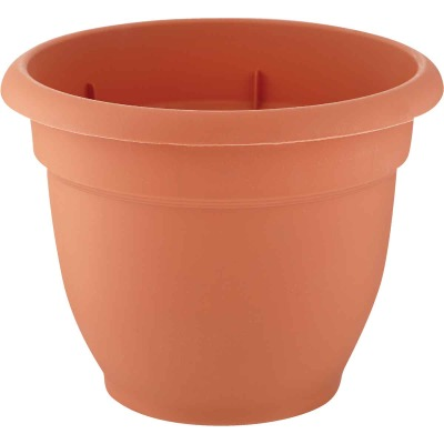 Bloem Ariana 6.5 In. H. x 6 In. Dia. Plastic Self Watering Terracotta Planter