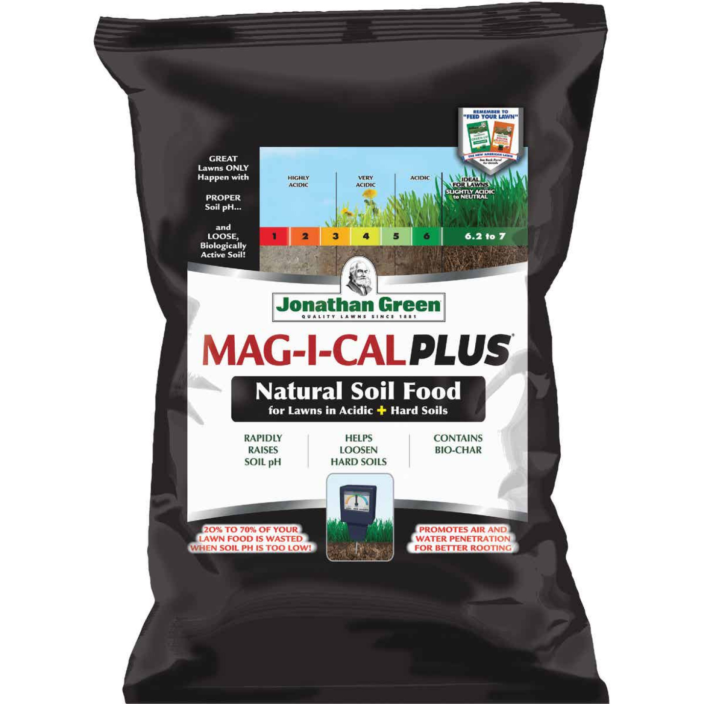 Jonathan Green MAG-I-CAL Plus 54 Lb. 15,000 Sq. Ft. 28% Calcium Lawn Fertilizer For Acidic Soil  Image 1