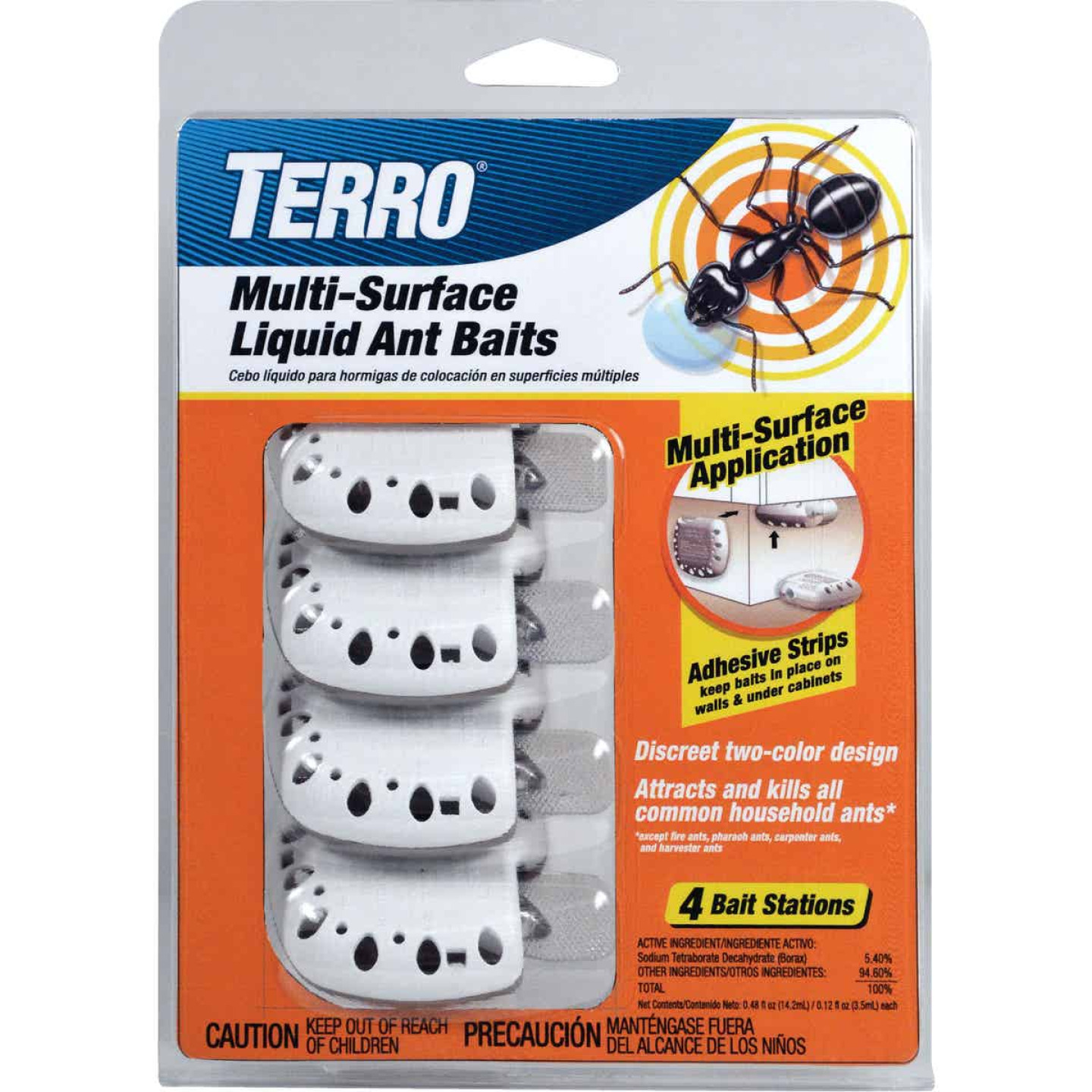 Terro Multi-Surface Liquid Ant Bait Station (4-Pack) Image 1
