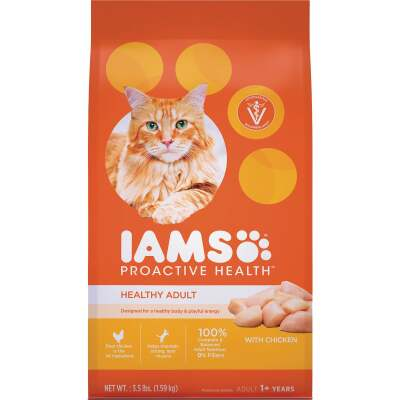 Iams Proactive Health 3.5 Lb. Chicken Flavor Adult Dry Cat Food