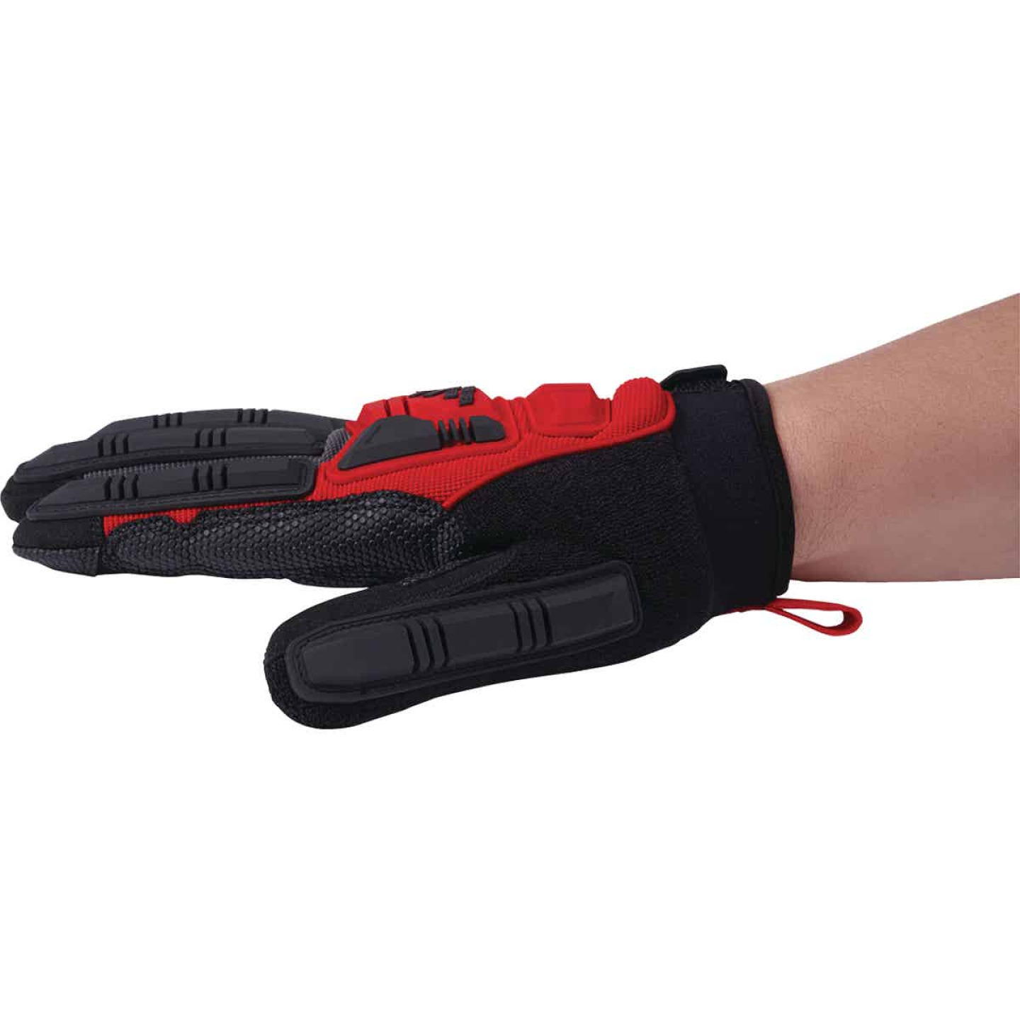 Milwaukee Men's Large Synthetic Leather Impact Demolition Glove Image 4
