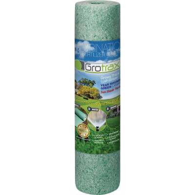 GroTrax Big Roll 100 Sq. Ft. Coverage Year Round Green Mixture Grass Seed Roll
