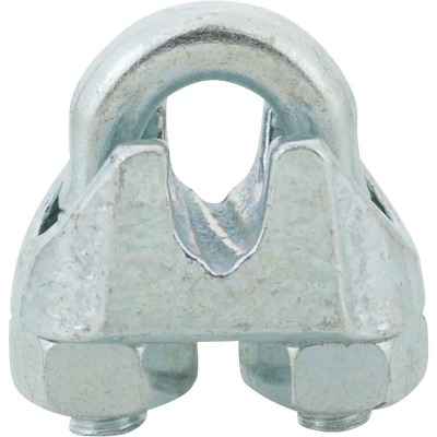Campbell 1/16 In. Galvanized Iron Cable Clip