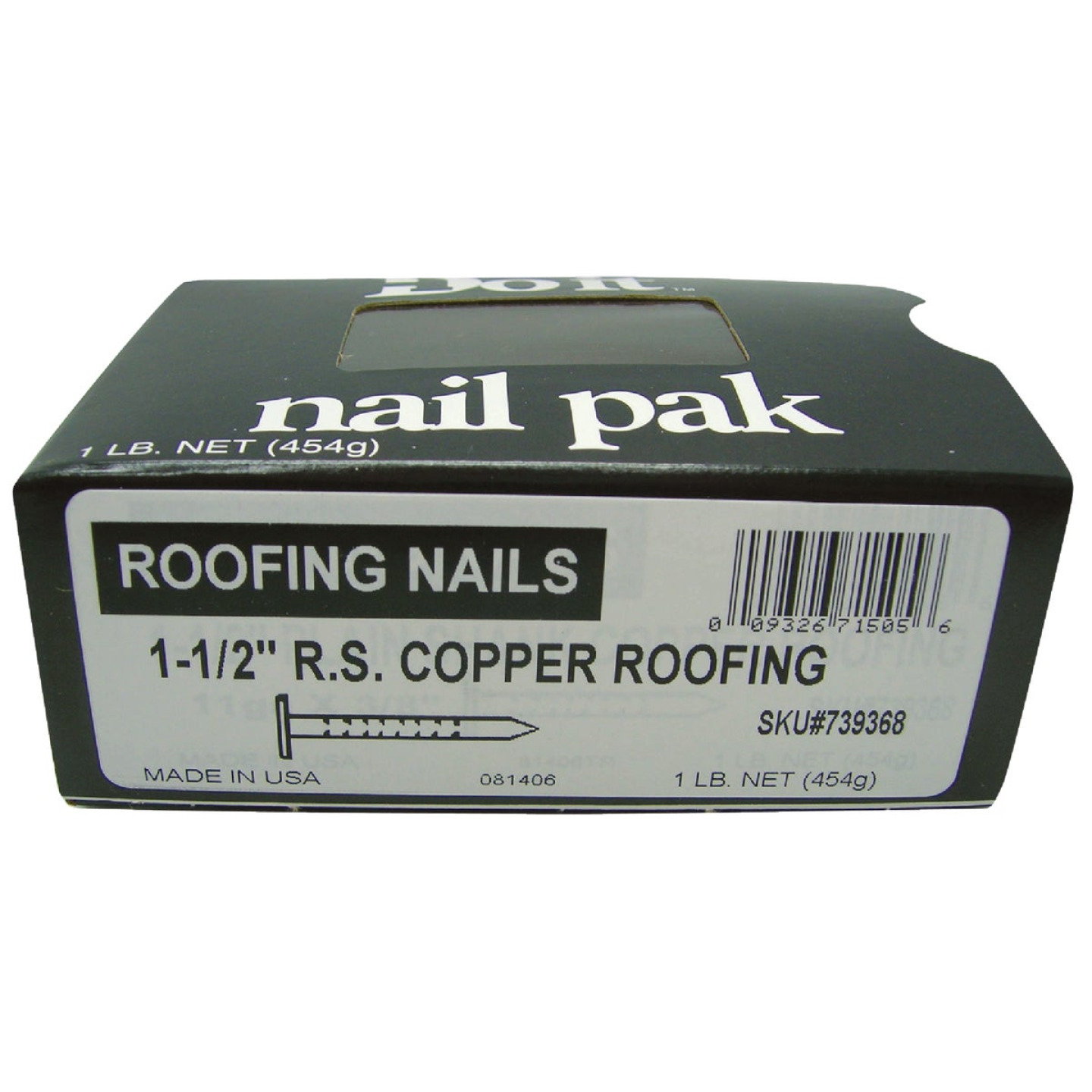 Do it 1-1/2 In. 11 ga Copper Roofing Nails (155 Ct., 1 Lb.) Image 2
