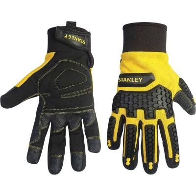 Stanley Impact Pro Men's Medium Synthetic Leather High Performance Glove