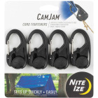 Nite Ize CamJam Plastic with Stainless Steel Gate Rope Tightener (4-Pack) Image 1